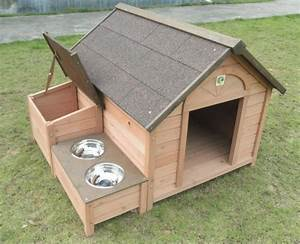 Dh 12 dog house outdoor wooden pet dog house animal home for Diy outdoor dog house