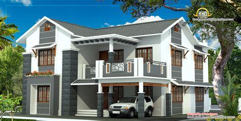 beautiful story house elevation kerala home design house