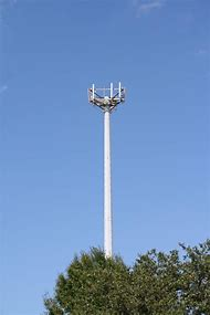 Cell Phone Monopole Tower