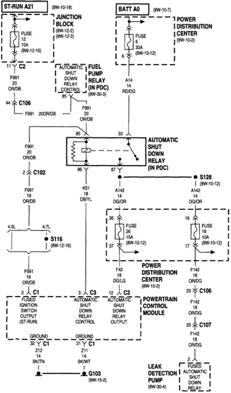 Circuits Jeep Cherokee Fuel Pump Wiring Diagram