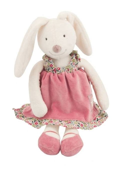 moulin roty peluche lapin capucine 31 cm
