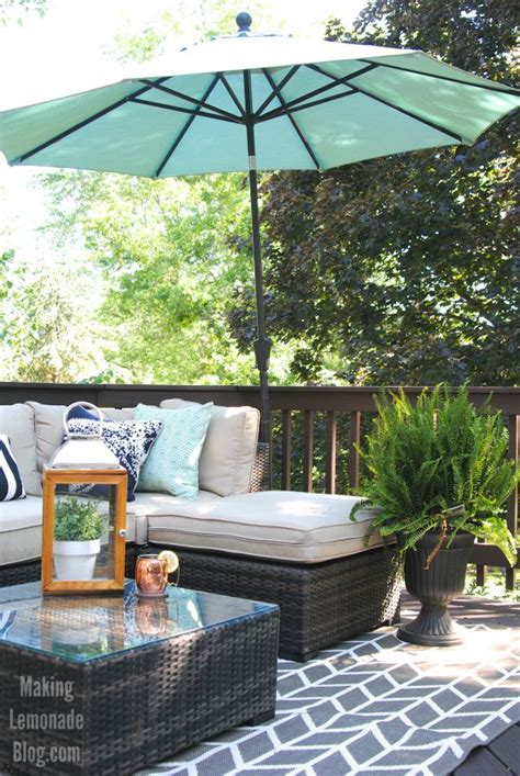 Our Outdoor Living Room & Diy Deck Makeover Reveal