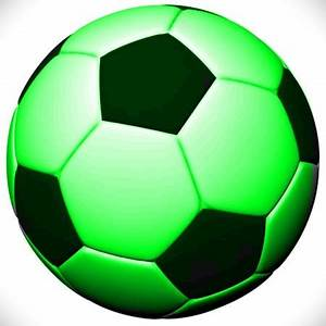 Image Gallery neon green soccer