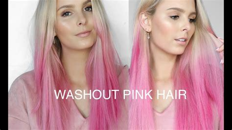 Colorista Washout Pink Semi Permanent Hair Dye Amazing