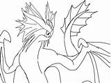 Dragon Coloring Train Stormcutter Httyd Lineart Pages Templates Studios Dragons Games Deviantart Blackdragon sketch template