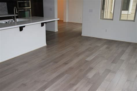 Bleached Walnut Flooring