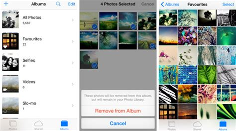 how to make a photo album on iphone how to use iphone photo albums to manage your photos