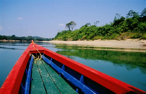 The Boat Ride In Spanish by Mexico Palenque To Merida A North American Bicycle Journey