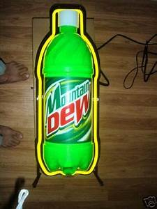 Mountain Dew Neon Sign MADE IN USA
