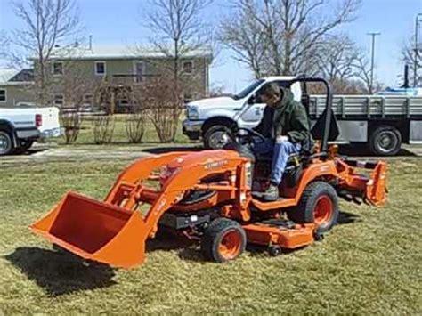 kubota garden tractor our new garden tractor kubota bx 2660