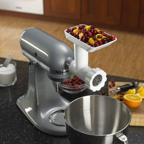 kitchenaid stand mixer food grindermincer attachment williams sonoma au