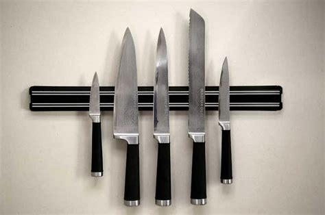 knife magnetic kitchen rack storage holder strip wall chef racks knives mount bar utensil tool knifes lady 55cm under changmoh