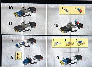 LEGO Police Squad Car Instructions 7030, World City