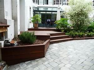 terrasse amenagement jardin nos conseils With amenagement terrasse et jardin