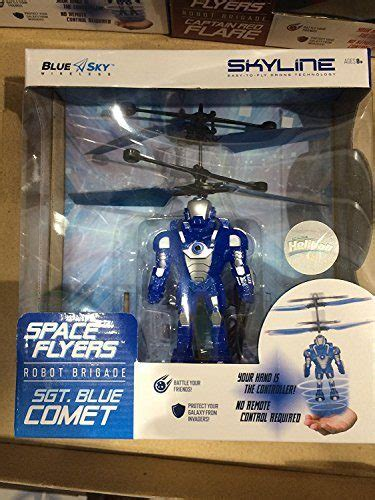 blue sky wireless space flyers robot brigade sgt blue comet pickrightly