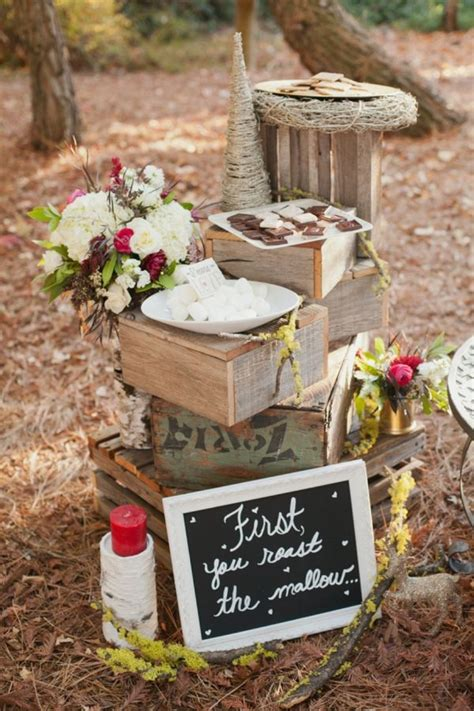 rustic christmas wedding ideas heart love weddings