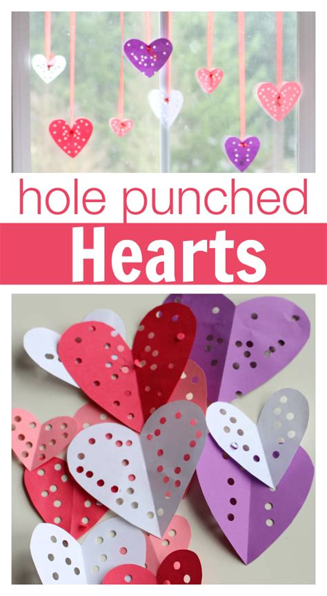 Easy Valentine's Day Craft  No Time For Flash Cards