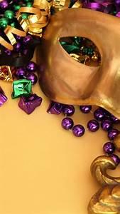 Mardi gras venetian masks venice beads carnivals Wallpaper