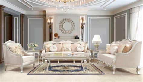 homey design hd  nicoletta  piece formal living room