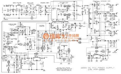 Index Power Supply Circuit Diagram