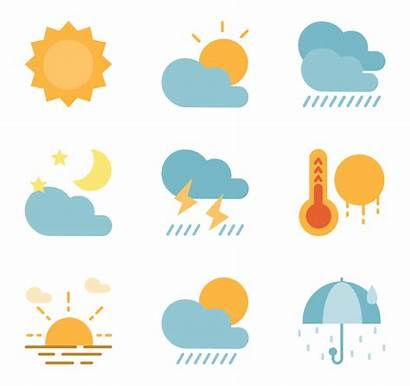 Weather Forecast Icons Transparent Icon Clipart Pack