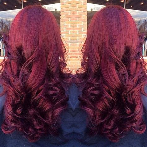 reddish purple hair color 10 shades of more choices to dye your hair
