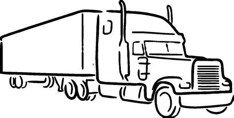 Semi Truck Clipart Semi Truck Clipart Black And White 101 Clip