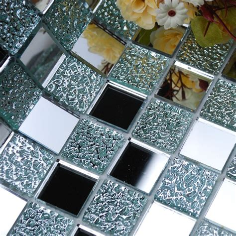 Bathroom Mosaic Mirror Tiles by Wholesale Mirror Tile Squares Blue Bathroom Mirrored Wall
