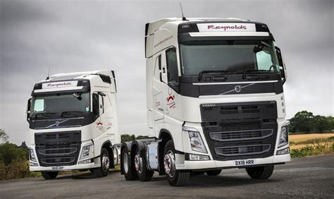 reynolds recruitment takes delivery    volvo fh