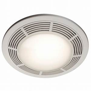 Broan 100 Cfm Ceiling Bathroom Exhaust Fan Night Light