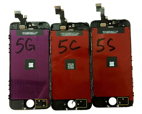 iphone 5c lcd what is the lcd difference for iphone 5 iphone 5c and