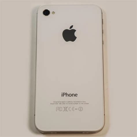 a1387 iphone used apple iphone 4s 16 gb white icloud locked ios