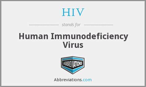 hiv stand