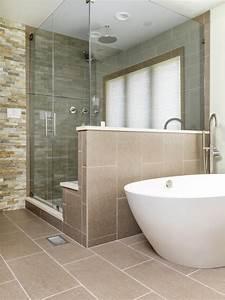 Master Shower Freestanding Tub