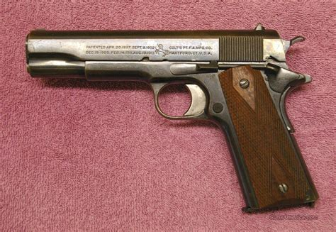 Colt 45 Acp 1911 Government Model For Sale
