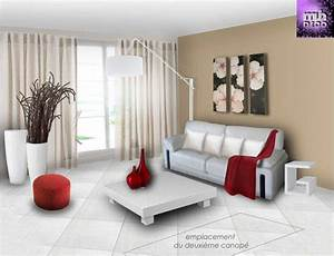 deco maison peinture collection et idee decoration salon With idee deco salon moderne