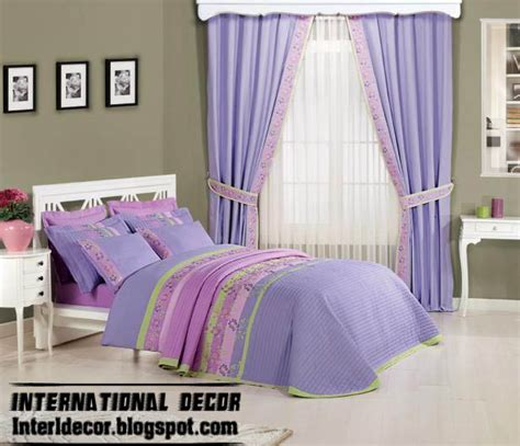 stylish room curtains with duvet sets models colors