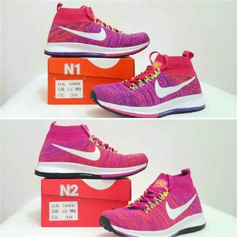 Sepatu Nike Airmax Pink Mix jual sepatu olahraga nike airmax wanita biru putih