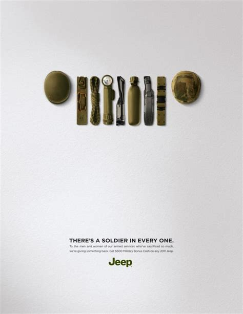 jeep print ads jeep quot jeep soldier quot print ad by doner