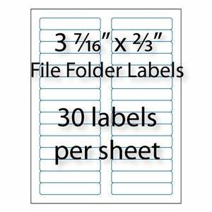 file folder labels 3 7 16quot x 2 3quot 30 up averyr 5366 With avery template 5366 for word