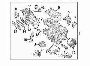 Ford Fiesta Hvac Heater Mode Door Lever  2011