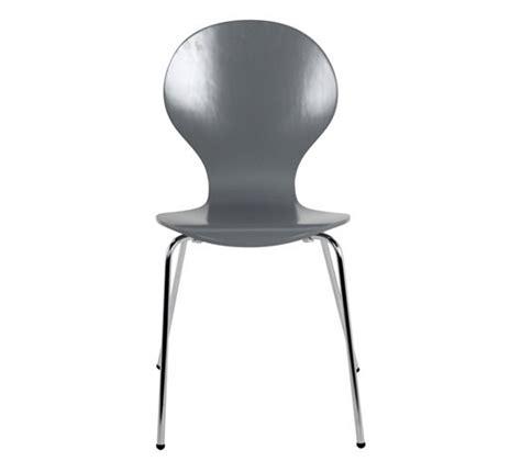 eco cuisine verdun chaise spoon 2 gris chaises but