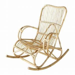 Rocking Chair Maison Du Monde : rocking chair en rotin louisiane maisons du monde ~ Teatrodelosmanantiales.com Idées de Décoration