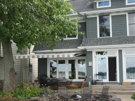 home retractable deck awnings  muskegon awning fabrication
