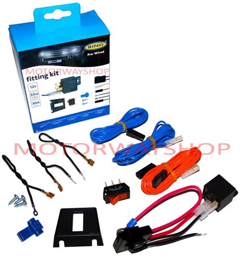 fog light installation shop driving fog l light wiring kit fast fit pre wired with