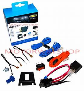 Driving Fog Lamp Light Wiring Kit Fast Fit Pre Wired With