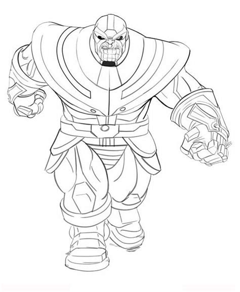 disegni da colorare thanos thanos coloring pages for adults coloring coloringsws
