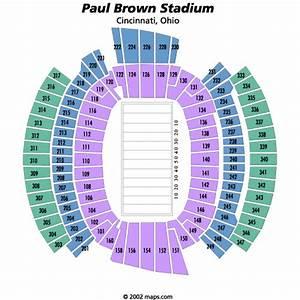 Breakdown Of The Paul Brown Stadium Seating Chart