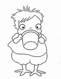 Ponyo coloring pages | Ponyo, Coloriage, Coloriage heidi