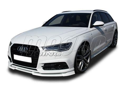 Audi S6 Front by Audi S6 C7 4g Facelift V2 Front Bumper Extension